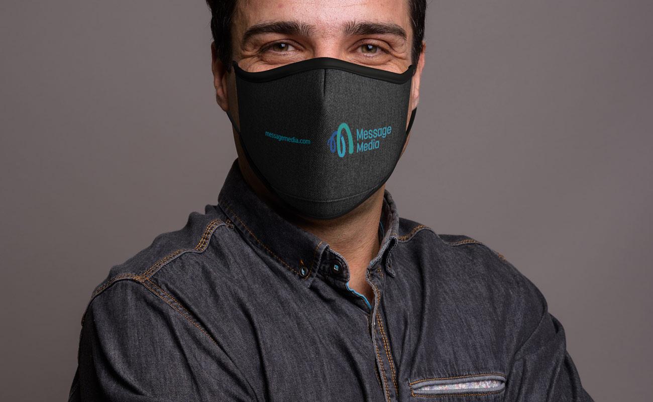 Denim - Personalised Face Mask