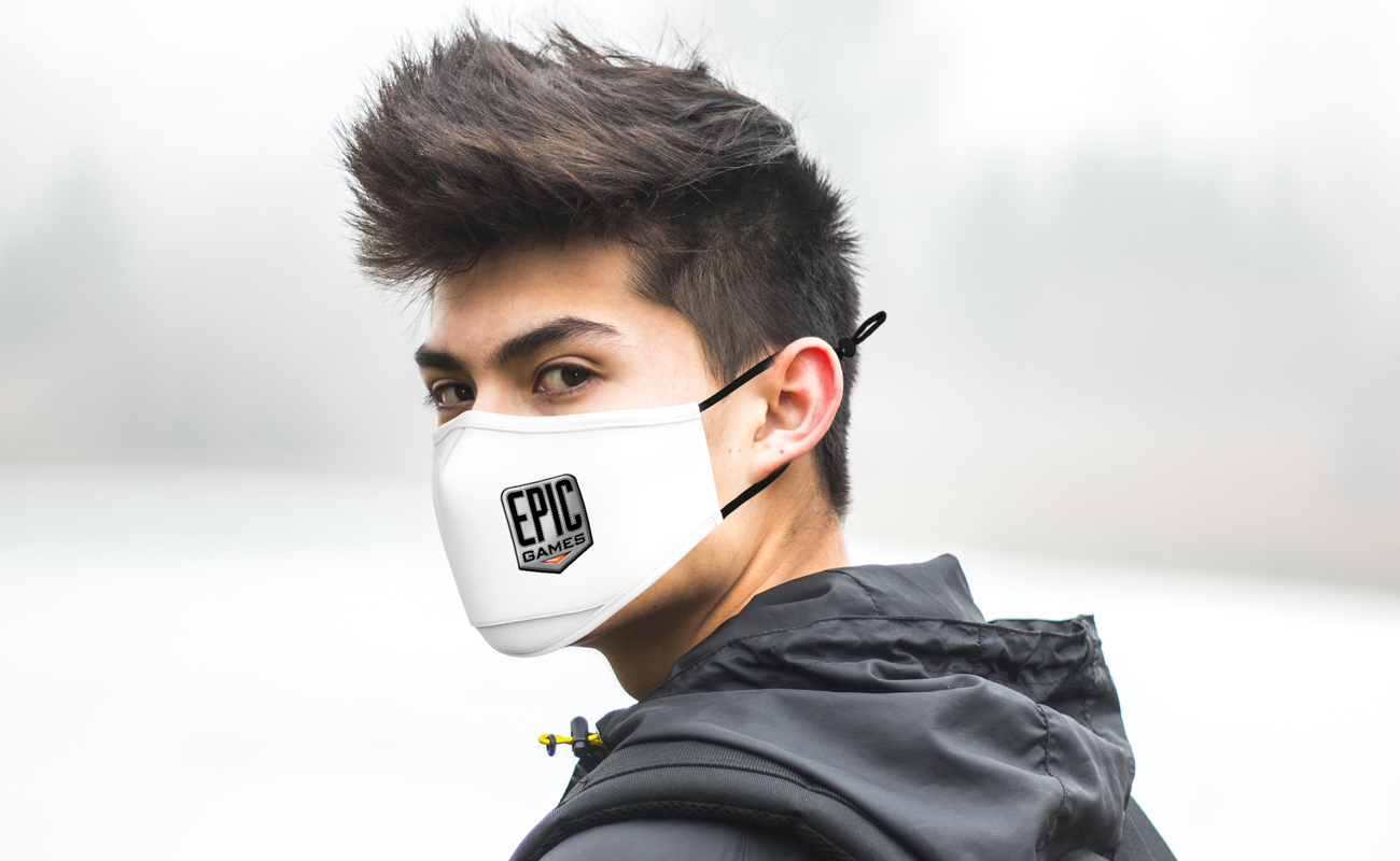 Junior - Personalized Face Covering